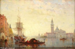 calderon-charles-clement-1864-grand-canal-a-venise